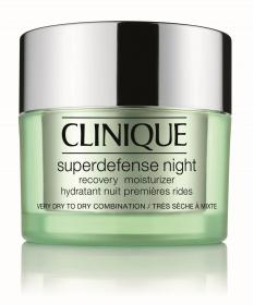 Superdefense Night Recovery Moisturizer Hauttyp 1/2