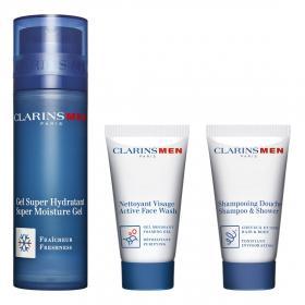 ClarinsMen Feuchtigkeits-Essentials Set