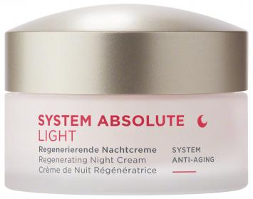 SYSTEM ABSOLUTE ANTI AGE Regenerierende Nachtcreme light