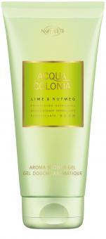 Lime + Nutmeg Aroma Shower Gel
